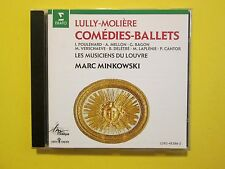 Lully Moliere Comedies-Ballets Marc Minkowski Classical CD