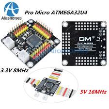 Pro Micro ATMEGA32U4-AU 3.3V 8MHz/5V 16MHz Development I/O Board For Arduino