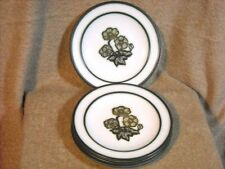 """set of (4) Wedgwood """"Primrose"""" Oven to Table Bread Plates England"""