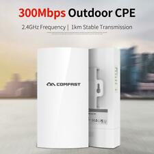 COMFAST Outdoor Wireless Access Point 300Mbps 1KM 2.4GHz AP WiFi Bridge Repeater