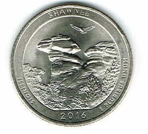 2016-P Brilliant Uncirculated Shawnee National Forest Quarter Coin!