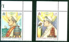 2018 Vatican City: Death of Pope Paul VI and Pope John Paul I MNH