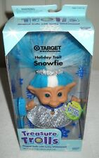 #9943 Nrfb Galoob Target Stores Treasure Trolls Holiday Snowfie Special Edition