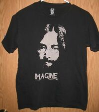 John Lennon Imagine T-Shirt (Medium) Black 100% Cotton