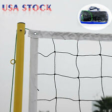 Volleyball Net With Steel Cable Rope 32 x 3FT Official Size Outdoor Beach w/ Bag
