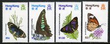 Hong Kong 354-357, MNH. Butterflies, 1979