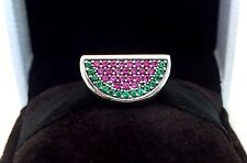 Authentic Pandora Pave Watermelon Charm #791901CZR Pandora TAG & BOX Included