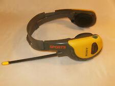 Vintage SONY SPORTS FM/AM WALKMAN RADIO HEADPHONES Model SRF-HM55- Work