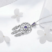 Dream and catcher Christmas 925 Sterling Silver Beauty Necklace Charm Jewelry