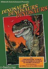 DINOSAURS DINOSAURS DINOSAURS DVD Prehistoric World GARY OWENS Ray Harryhausen!
