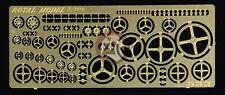 Royal Model 1/35 Assorted Hand Wheels (Steering Wheels) [Photo-etch Detail] 633
