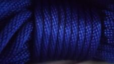 """New listing 5/8""""x 200 ft. Solid Braid Mfp Derby Rope.Royal Blue.Made in the Usa"""