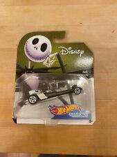 Disney Hot Wheels Jack Skellington Character Car