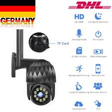 WIFI 1080P HD IP Kamera Überwachungskamera Webcam Wlan Funk Innen IR Nachtsicht