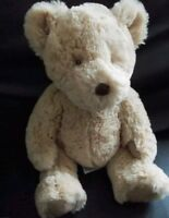 13g   MARKS AND SPENCER TEDDY BEAR MY FIRST BERTIE COMFORTER SOFT CUDDLY HUG TOY