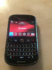 BlackBerry Bold 9000  - Black (Rogers CHATTER)~POOR CONDITION ~FREE SHIP