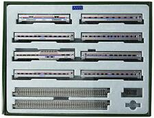 Kato 106081 ~ New 2020 ~ N Amtrak Southwest Limited 8-Car Set W/Display Unitrack