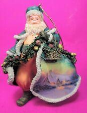 Thomas Kinkade (Ashton Drake) Old World Santa Ornament *Mwt*