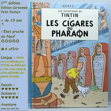 Tintin, 3, Les cigares du Pharaon, Hergé, Casterman, Petit format, EO, 2004 EN C