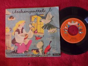 Aschenputtel     Polydor 45 mit Buch