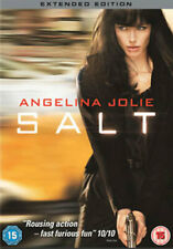 Salt DVD 2010 Action Spy Thriller With Angelina Jolie Extended Edition