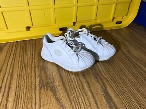 FISHER PRICE WHITE TODLER SNEAKERS LEATHER UPPER SIZE TODDLER-USA-10.5