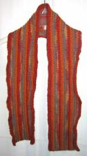New Handmade Knitted Multicolor Striped Scarf