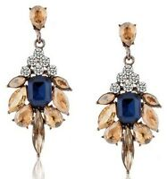 Fashion Lady Women Elegant Vintage Rhinestone Ear Stud Earrings Jewelry