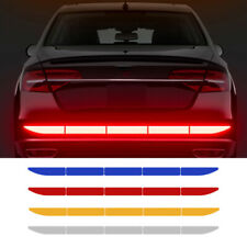 1x Car Reflective Warn Strip Tape Bumper Safety Stickers Decal Car Accessories