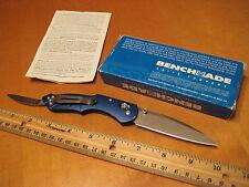 Benchmade Knife 921 BLUE Osborne Switchback Axis S30V LNIB like 923 930 940 945