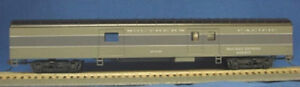 """HO 72 Ft Pass. Railway Post Office,RTR Southern Pacific """"Lark"""" Grays (1-934)"""