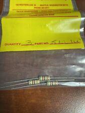 (3) 51 ohm 1 watt 5% resistors