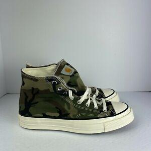 Converse x Carhartt WIP Chuck 70 Hi Camouflage Canvas 169221C Multi Sizes