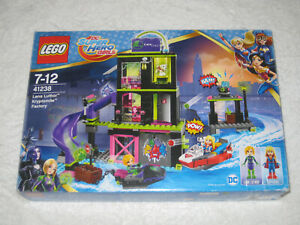 LEGO DC SUPER HEROES GIRLS SET 41238 LENA LUTHER KRYPTOMITE FACTORY - USED EXCEL