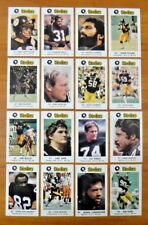 Pittsburgh Steelers Police Football Card Set