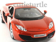 Bburago McLaren MP4 12C 1:24 Diecast Model Car 24074 Orange