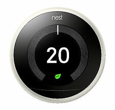 Nest 3rd Gen. Programmable Learning Thermostat - White