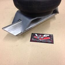 """4 Link Bag on Twisted 2"""" Square Tube Bracket - Pair - Airbags Custom Mounting"""