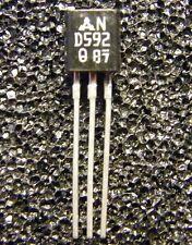 10x 2SD592-Q NPN-Transistor 25V 1A 750mW, Panasonic