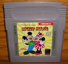 original Nintendo Game Boy Mickey Mouse Gameboy