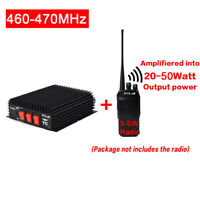 PE MAX 50W UHF 460-470 MHz Power Amplifier FM for portable two way radio