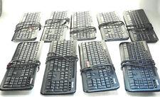 LOT of NINE - Genuine Microsoft ANB-00001 Wired Keyboard 600 Black - REFURBISHED