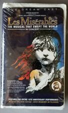 Les Miserables  In Concert - NEW VHS Clamshell Case The Musical that Swept World