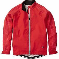 Sportive Hi-Viz youth waterproof jacket, flame red age 13 - 14 - Madison
