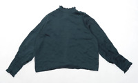 Asos Womens Size 14 Green Blouse (Regular)