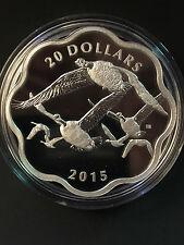 2015 Canada MC #1 - Master of the Sky: Canada Goose $20 Fine Silver Coin