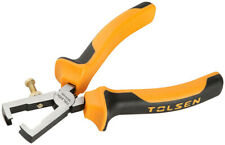 """Tolsen Wire Stripper Cutter Tool and Multi-Function Tool Cable Cutter Plier 6"""""""