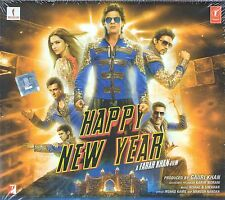 HAPPY NEW YEAR (HERZENSDIEBE)  - Bollywood Soundtrack CD -Shahrukh Khan