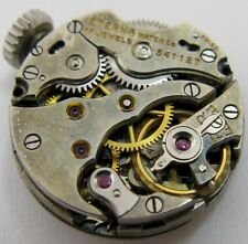 Eterna A 675 round watch movement 17 jewels for parts .