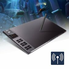 Huion Giano WH1409 13.8-by-8.6 Inch Wireless Graphics Drawing Pen Tablet with 12